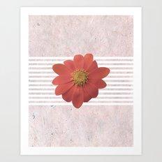Tithonia Rotundifolia II Art Print