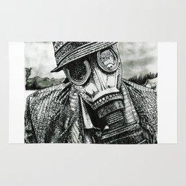 Gas Mask Rug
