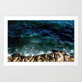 Mar Adentro Art Print