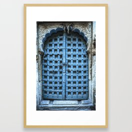 Doors Of India 1 Framed Art Print