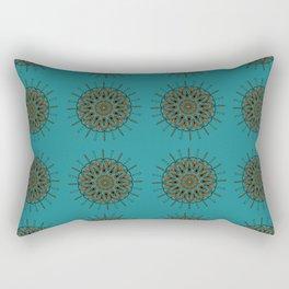 Himalayan Candy Green- Mini Mandala Pattern Rectangular Pillow