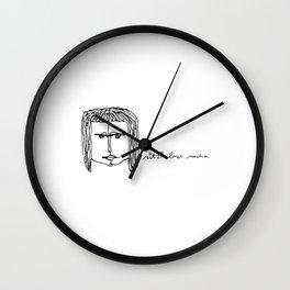 mitzi loves mocha Wall Clock