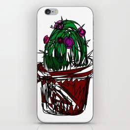 Jan the Cactus iPhone Skin