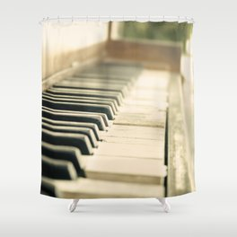 Tickling The Ivories Shower Curtain