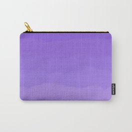 Dreamy Purple Fluff Carry-All Pouch