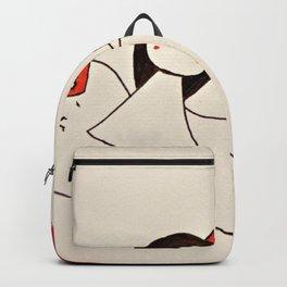 Super Adorable Stickman Girl Heartbroken Love Ultra HD Backpack
