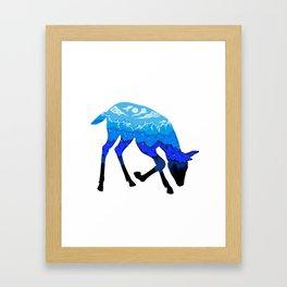Nature lives Framed Art Print
