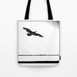 flying into the unknown Tote Bag