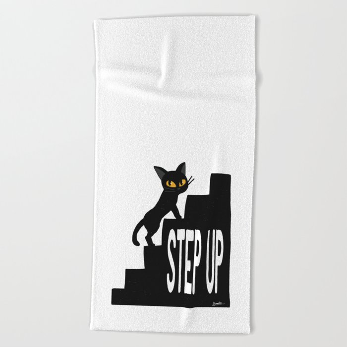 STEP UP Beach Towel