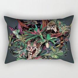 Rainforest corner Rectangular Pillow
