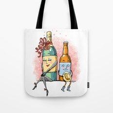 Bottled Romance Tote Bag
