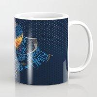 pacific rim Mugs featuring Pacific Rim by Charleighkat