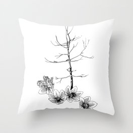 Trees a Charm Throw Pillow