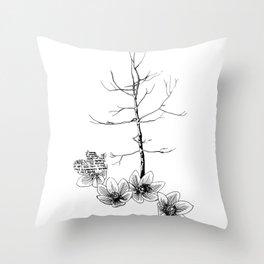 Trees a Charm Throw Pillow