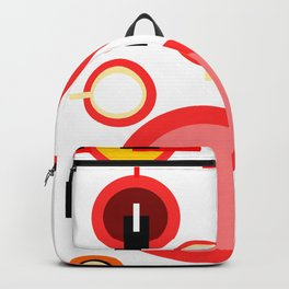 Teapots and mugs Backpack