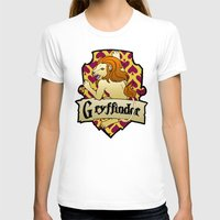 gryffindor T-shirts featuring Gryffindor Crest by AriesNamarie
