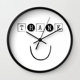 Thank you Wall Clock