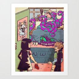 Feeding Your Imagination Art Print