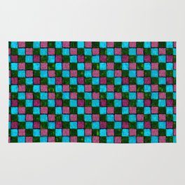 Bodacious Island Paradise and Lush Meadow Patchwork Rug