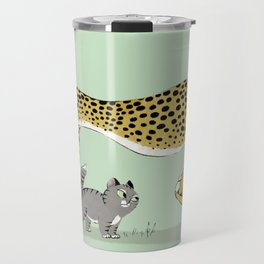 Cheetah Travel Mug