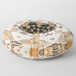 Not Your Grandma's Quilt: #Soverignty2020 #innerstanding Sri Yantra Sacred Geometry Dope Boho Quilt! Floor Pillow