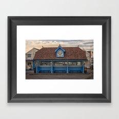 The Bus Stop Framed Art Print