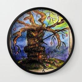 Gnarly Tree Wall Clock