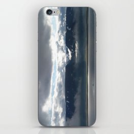 Sun on an Icelandic Fjord iPhone Skin