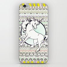 Unicorn Party iPhone Skin