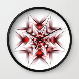 Mandala Star Wall Clock
