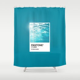 Pantone Series – Underwater Shower Curtain