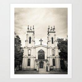 Gothic Church Art Print