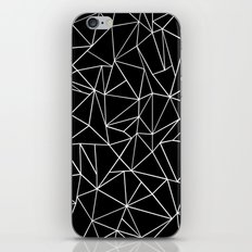 Abstraction Outline Black and White iPhone & iPod Skin