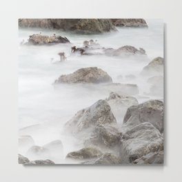 Sea Palms Metal Print