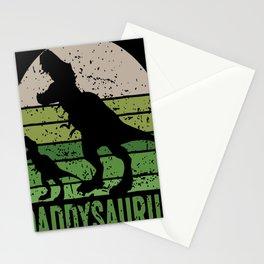 Daddysaurus Vintage Stationery Cards