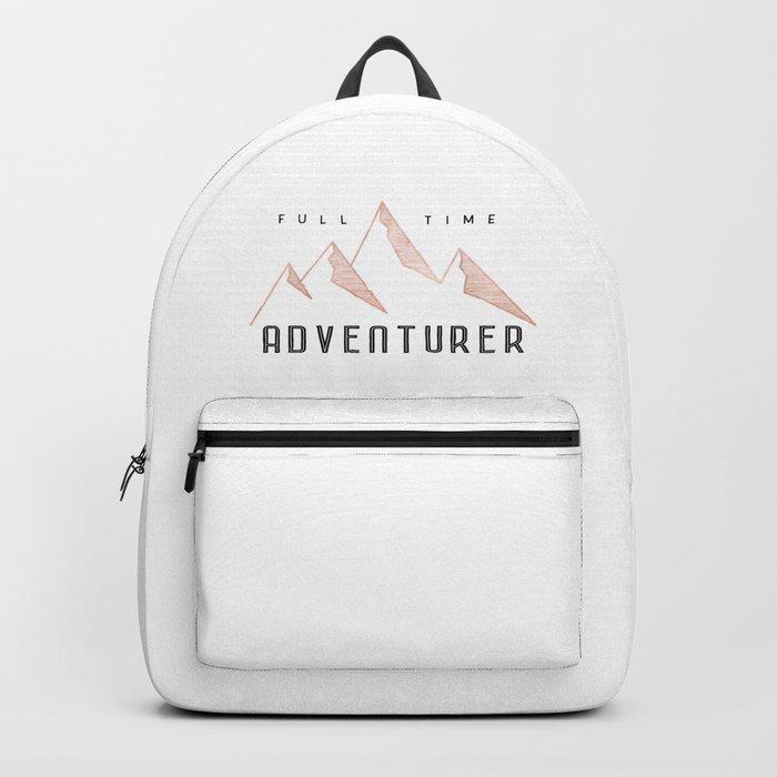 Full Time Adventurer Rosegold Mountains Backpack