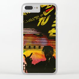 Long Live A$AP Rocky Fanmade Artwork Clear iPhone Case