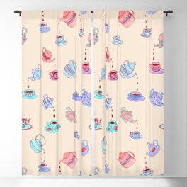 Tea Time Blackout Curtain