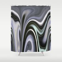 vertigo Shower Curtains featuring Vertigo by Dorothy Pinder