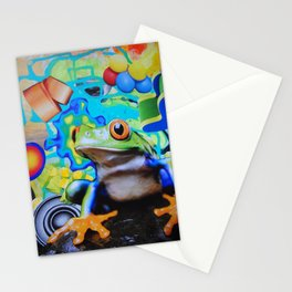 Peace Frog Stationery Cards