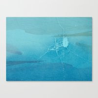 cracked Canvas Prints featuring Cracked by Claire Elizabeth Stringer