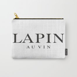 LAPIN AU VIN - taste for fashion Carry-All Pouch