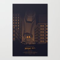 pacific rim Canvas Prints featuring Pacific Rim by Mat Weller