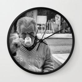 Cyprus Coffee Wall Clock
