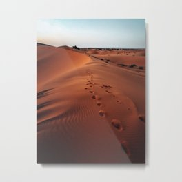 moroccan desert Metal Print