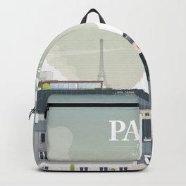 Alone In Paris - Paris s'éveille (Paris wake up) Backpack