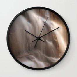Hadlock Flicker Falls Wall Clock