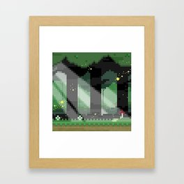 Zelda: Lost Woods Framed Art Print
