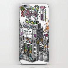 The Tiñin Cat kingdom Visual Toy iPhone & iPod Skin