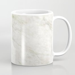 White Green Marble Floor Coffee Mug